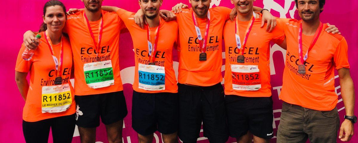 marathon Toulouse 2017 ECCEL